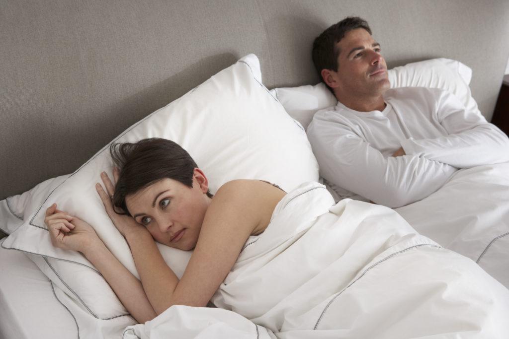Sexuelle Unlust kann die Beziehung zwischen Mann und Frau auf Dauer stark belasten.