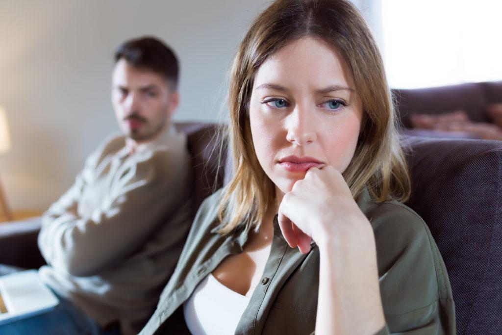 Sexueller Unlust begegnen - Wenn Sorgen und Ängste großen Raum im Alltag einnehmen, ist an Lust auf Sex oft kaum zu denken.