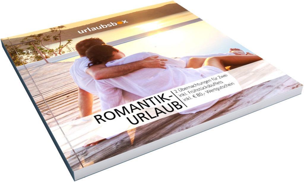 Der Gutschein für das Romantik-Wochenende wird dem oder der Liebsten am Valentinstag in einer edlen Geschenkbox überreicht. Romantischen Kurzurlaub schenken
